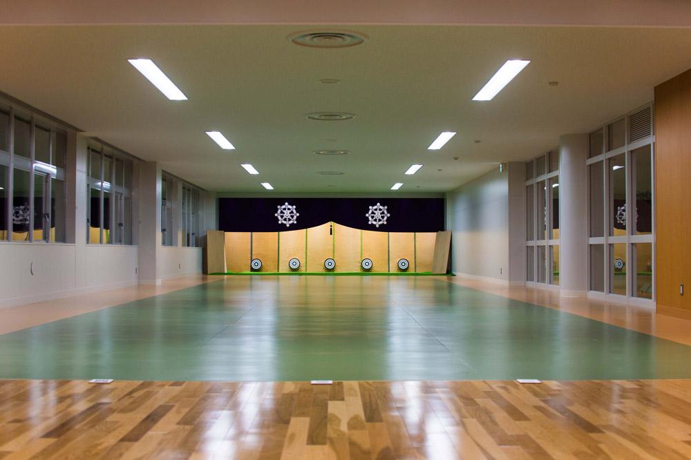体育講義室(弓道場)