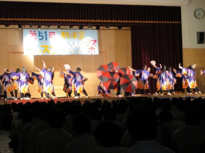 YOSAKOIファイナルステージ(恭・親・礼組の演舞)
