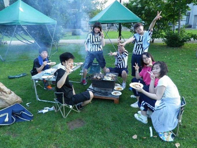 夏季進学合宿⑥(2日目夜のバーベキュー)