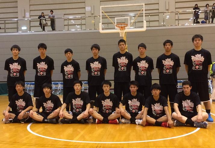 バスケットボール部北海道予選会準優勝