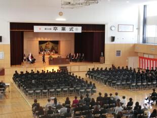 第50回卒業式①
