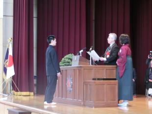 第50回卒業式②