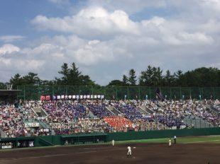 野球全校応援②