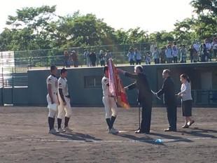 野球部 表彰