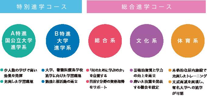 特別進学コース/総合進学コース